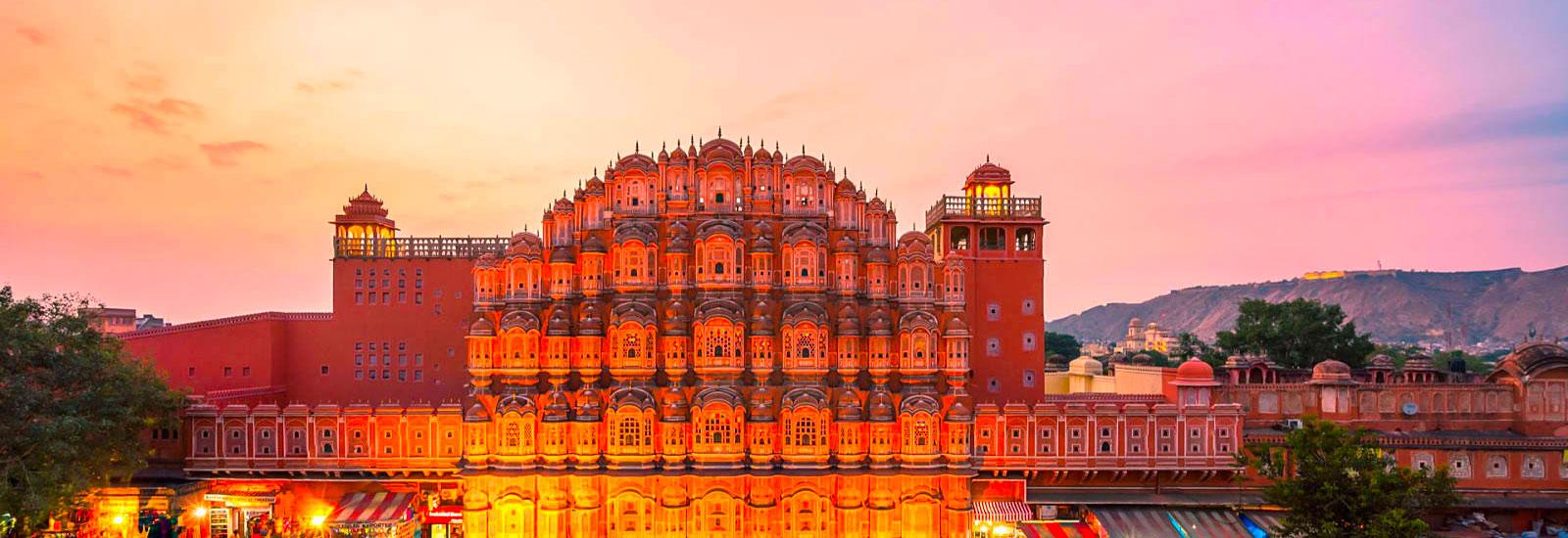 Jaipur (Hawamahal)
